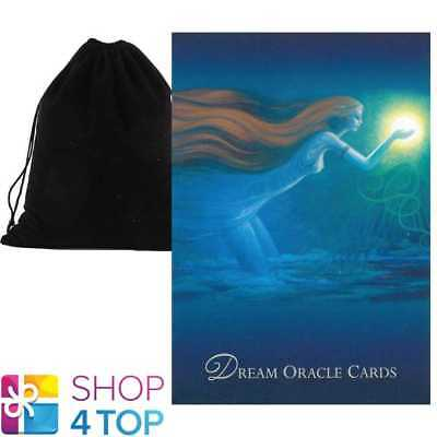 Dream Oracle Cards Deck  Esoteric Telling Us Games Systems With Velvet Bag New