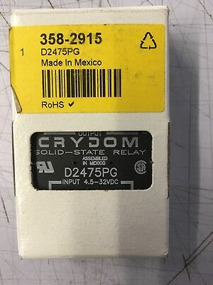 crydom solid state relay D2475PG