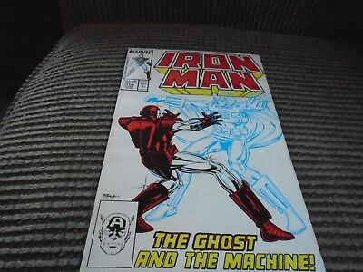 Iron Man #219  VF/NM First Appearance of Ghost