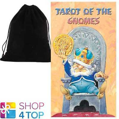 Tarot Of Gnomes Deck Cards Lo Scarabeo Lupatelli Esoteric With Velvet Bag New