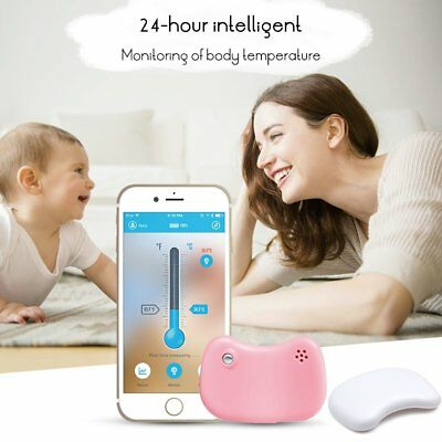 Bluetooth Baby Intelligent Thermometer Wireless Phone Infant Fever Monitor