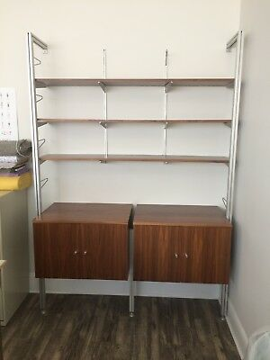 Vitsoe Style Vertical Cabinets and Shelving System – Excellent Condition!