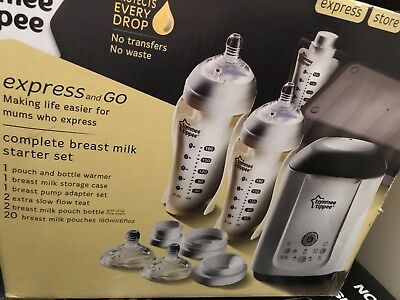 Tommes Tippee Express And Go Breastfeeding Set