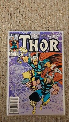 The Mighty Thor #350. NM-/NM.9.2 - 9.4. Beta Ray Bill App. Walter Simonson.