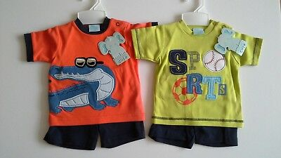 Bundle of baby boys clothes sets size 6-12 months BNWT