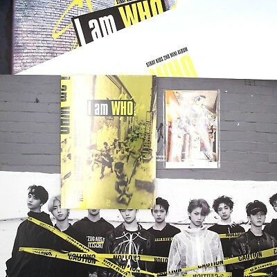 [STRAY KIDS] 2nd Mini Album/I Am WHO/ 'WHO' Ver.(New Sealed)+Preorder Gifts