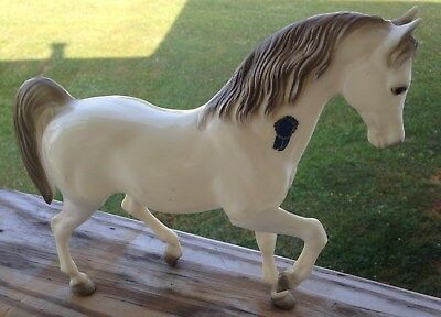 Early Breyer Alabaster Gaiter? Horse w/Label