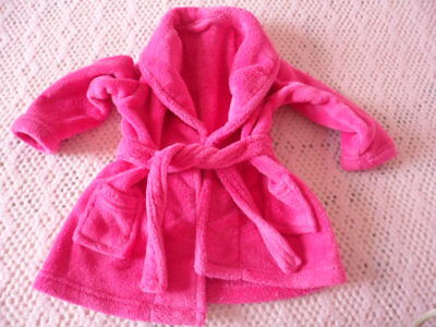 Baby girl's pink dressing gown 18-23 months (Good condition)