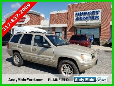 Jeep Grand Cherokee Limited Used 99 Jeep Grand Cherokee Limited Used 4L I6 Auto 4x4 SUV Gold Tan No Reserve