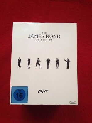 James Bond Collection Blu-Ray Leerbox Inklusive Buch