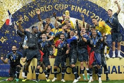 SALE FRANCE 2018 WORLD CUP WINNERS HIGH QUALITY PROFESSIONAL PHOTOGRAPH 12x8