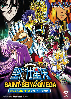 Anime DVD Saint Seiya Omega Season 1+2 (Vol.1-97 End) Eng Sub + Bonus DVD