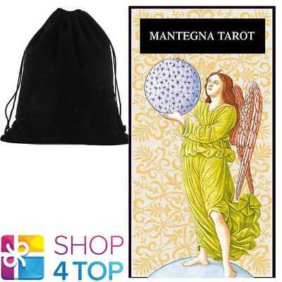 Mantegna Tarot Deck Cards Lo Scarabeo Esoteric Telling With Velvet Bag New