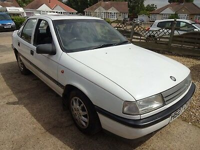 Vauxhall Cavalier 1.6 Gl Saloon. One Local Private Owner Since One Year Old