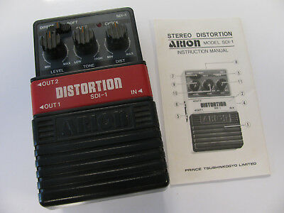 ARION - Stereo Distortion - SDI- 1  - Made in Japan