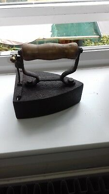 Very Rare Antique Slug / Box Iron No.5 Marked Chane? Circa 1900s