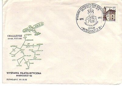 Poland - Various FDI Special Cancelled Covers (4no. All Different SC's) 1982