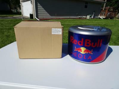 Red Bull Cola Ice Bucket 3 Piece Cooler. 2 Gallon. New. Htf!