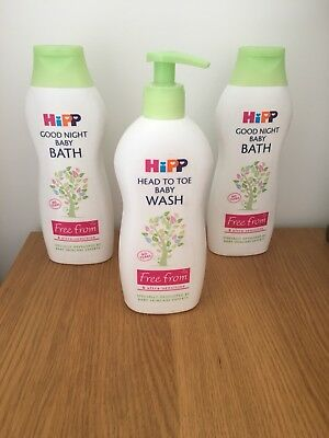 HiPP Good night baby bath 350ml (Pack of 2) Uk Seller