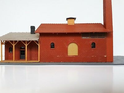 HO Gauge Goods & Passenger Building Pola Tyco assembled kit Made in West Germany