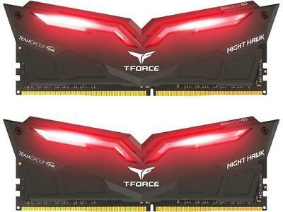 Team T-Force Night Hawk 32GB 2x16GB DDR4 3200MHz Memory THRD432G3200HC16CDC01