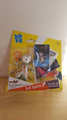 Official London 2012 Olympic Mascot Wenlock Collectable Figures Ball Sports 2