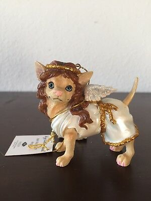 "New in Box..2009 ""Aye Chihuahua!"" Chihuahua Angel Ornament with Original Tags"