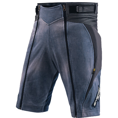 Shorts Racing Junior Energiapura With Protections Jeans Stonewashed