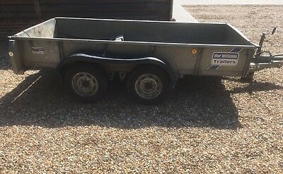 Ifor Williams GD105G Plant Trailer
