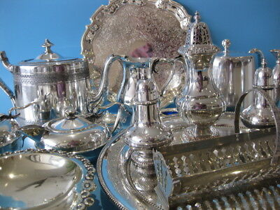 Beautiful Large Job Lot of Antique & Vintage Silver Plated Items & Cutlery