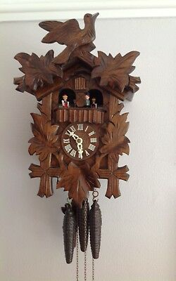 German Regula Musical Cuckoo Clock ~  Good Working Order