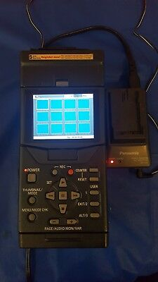 PANASONIC AG-HPG20 P2-HD is a portable P2 card recorder and player