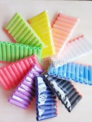 Refill Foam Darts 7.2cm 100Pcs For Nerf N-strike Elite Series Blasters Toy Gun