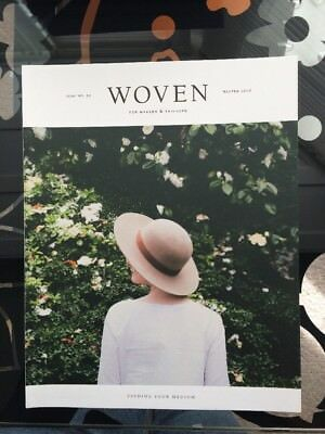 Woven Magazine Issue No 1 Indie Artists & Makers Magazine USA Kinfolk