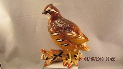 Vintage ARCO Quail Bird Painted Figurine Made in Japan