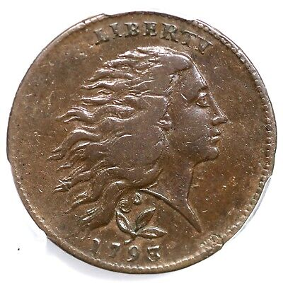 1793 S-6 R-3 PCGS VF 35 Vine and Bars Edge Wreath Large Cent Coin 1c
