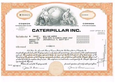 Caterpillar Inc., 2011