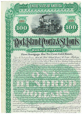 Rock Island, Peoria & St. Louis Railway Co., 1890, COX  ROC-477-B-50