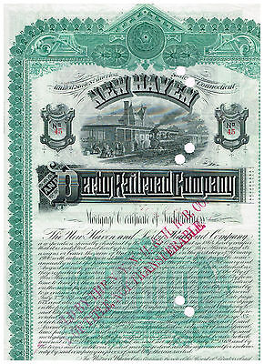 New Haven and Derby Railroad Co., 1888,  COX  NEW-167-B-70