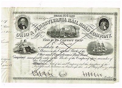 Ohio & Pennsylvania Rail Road Co., 1855