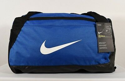 de2cb4dd6d5 Nike Brasilia (Small) Training Duffel Bag Game Royal  Black  White (BA5335