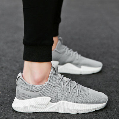 Men's Casual Sports Athletic Shoes Outdoor Running Trainers Sneaker Breathable