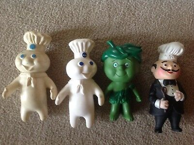 Vintage lot kitchen advertising magic chef, popping fresh, lil sprout figures