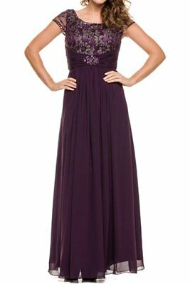 Mother of the bride formal evening gown J519 NWTags