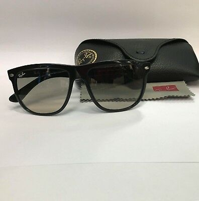 ⭐ Authentic 100% Ray-Ban Rb4147 601/32 Black Crystal Gray Gradient Sunglasses