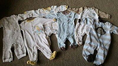 6 month baby boy clothes, Carter's brand, footie pajamas, lounge wear, cute,