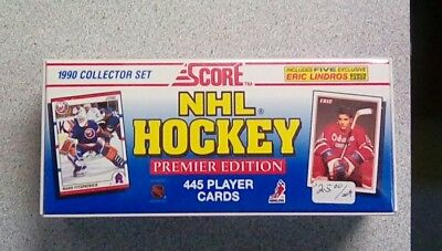 1990 Score NHL Hockey Collector Set - Premiere Edition  Factory Sealed