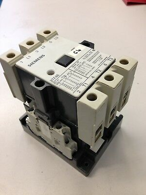 Siemens 3TF46 Contractor Control Relay 80A - 415V -25kW 3-pole, 110/50Hz