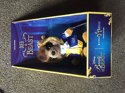 DISNEY Beauty and the Beast baby Oleg Compare the meerkat toy Limited Edition