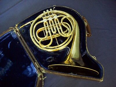 Vintage King French Horn H.n. White Co Cleveland Ohio Usa + King Case